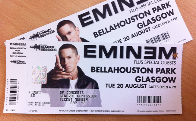 eminem tickets - photo #4