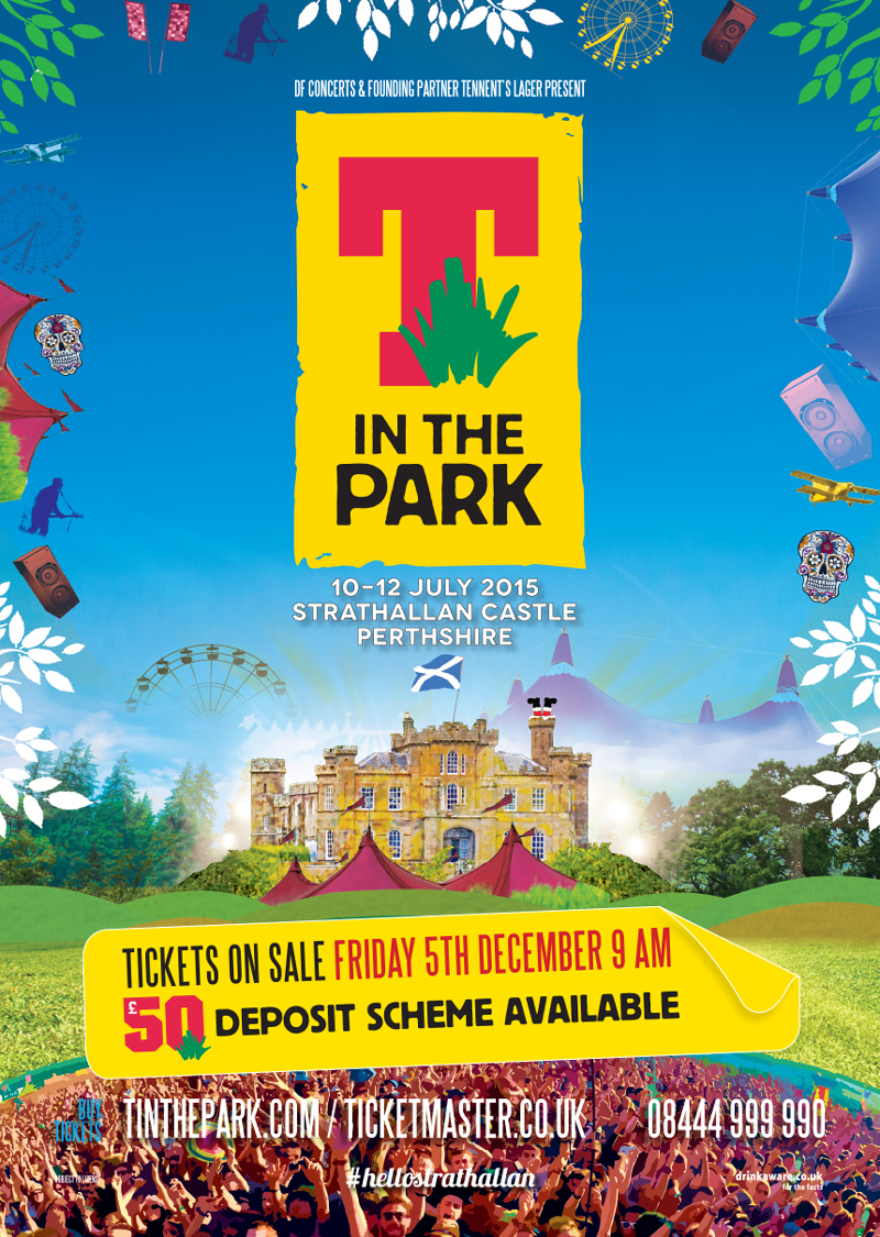 T in the Park artwork